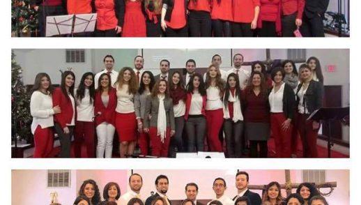 CHRISTMAS SERVICE | 12/17/2017 | UEC CHOIR | PASTOR WAFIK WAHBA & PASTOR DANIEL BATARSEH