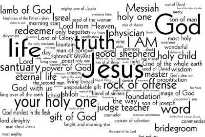 100 Names of Jesus