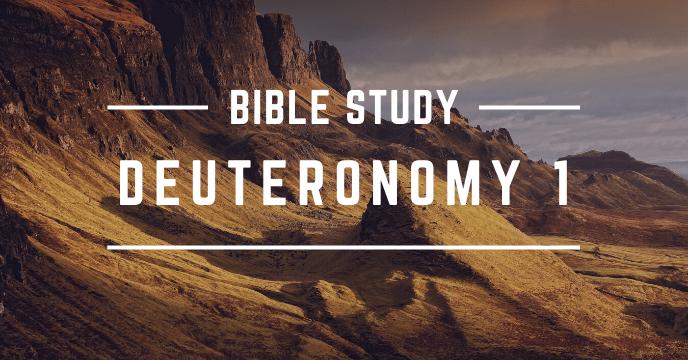 DEUTERONOMY 1
