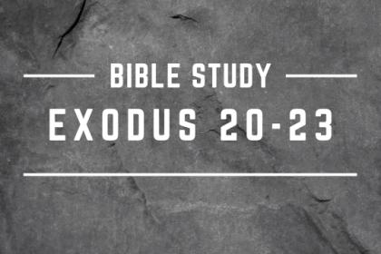 EXODUS 20-23