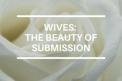 WIVES: THE BEAUTY OF SUBMISSION