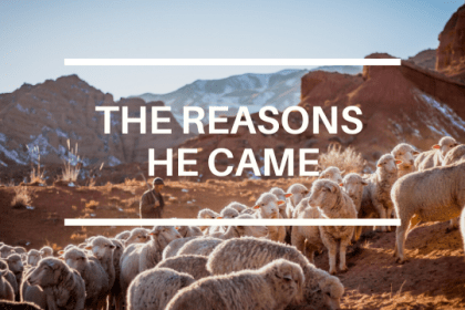 THE REASONS HE CAME