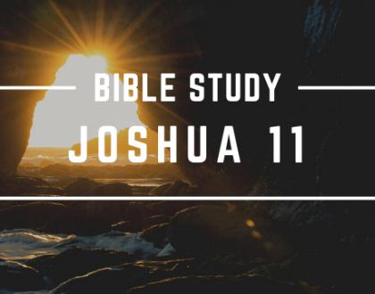 JOSHUA 11