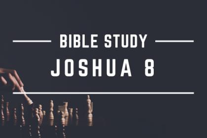 JOSHUA 8
